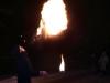 Pokaz akrobacji ogniem
